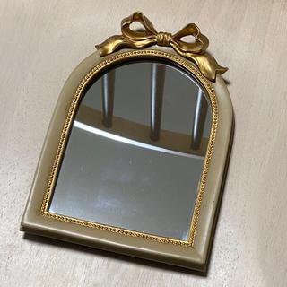 リリーブラウン(Lily Brown)のRubanchou リュバンシュ リボン ミラー 鏡(ミラー)