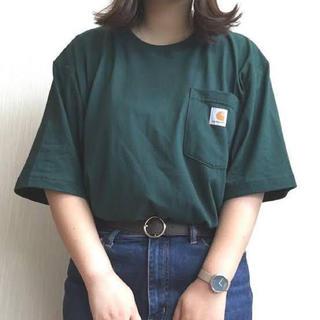 カーハート(carhartt)のCarhartt  Tシャツ L グリーン(Tシャツ/カットソー(半袖/袖なし))
