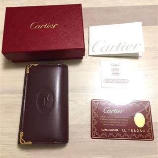 カルティエ(Cartier)の【新品】カルティエ マストライン 6連 キーケース  Cartier(キーケース)