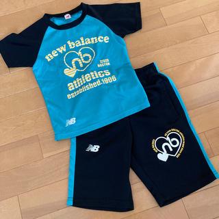 ニューバランス(New Balance)のnewbalance*Tシャツ ハーフパンツ*120(Tシャツ/カットソー)