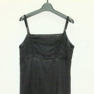 インディヴィ(INDIVI)のインディビ ワンピース サイズ40 M 黒(その他)
