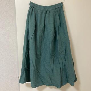 サマンサモスモス(SM2)のサマンサモスモス スカート グリーン(ひざ丈スカート)