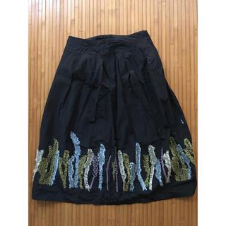 膝丈スカート サイズM(ひざ丈スカート)