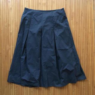 フレアスカート ロングスカート(ひざ丈スカート)