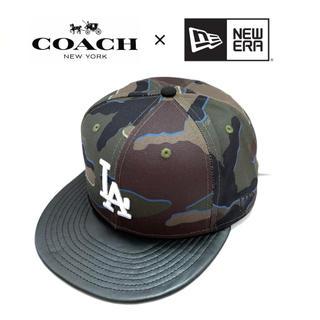 コーチ(COACH)の激レア COACH x NEW ERA コーチ x ニューエラ キャップ LA(キャップ)