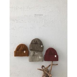 コドモビームス(こども ビームス)のfuwa moco ニット帽 ◆deep beige◆(帽子)