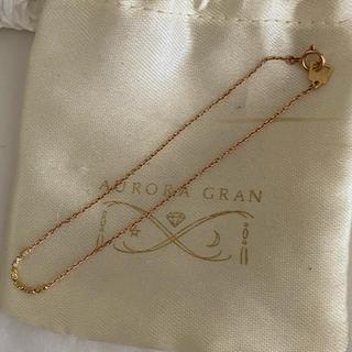 オーロラグラン(AURORA GRAN)のaurora  gran 10k18kコンビブレスレット(ブレスレット/バングル)