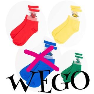 ウィゴー(WEGO)のダイナソー(恐竜) ☺︎︎ シースルーソックス (3足組)(ソックス)