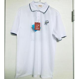 スヌーピー(SNOOPY)の新品未使用♡スヌーピー 速乾ポロシャツLサイズ(ポロシャツ)