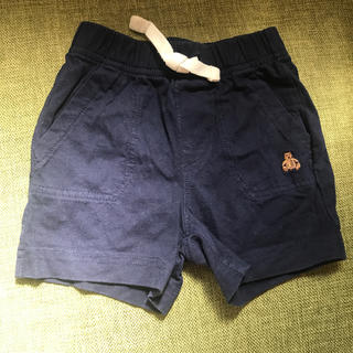 ギャップ(GAP)の半ズボン GAP 紺(パンツ)