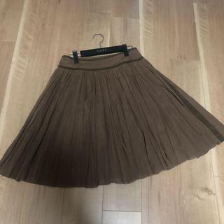 フォクシー(FOXEY)のフォクシーブティック スカート サイズ40(ひざ丈スカート)