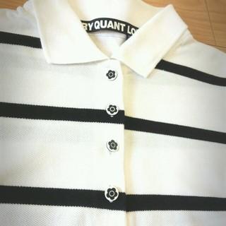 マリークワント(MARY QUANT)のプー様専用♡ボーダーポロシャツ(ポロシャツ)