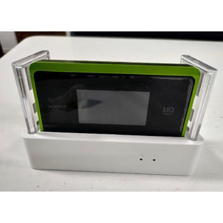 エヌイーシー(NEC)のSpeed Wi-Fi NEXT WX06  UQ WiMAX クレードル付き(その他)