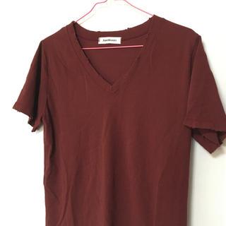 アントマリーズ(Aunt Marie's)のVネック Tシャツ アントマリーズ ◆フォロー(Tシャツ/カットソー(半袖/袖なし))