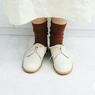 サマンサモスモス(SM2)の新品 レースアップフラットシューズ SM2×TIDEWAY(ローファー/革靴)