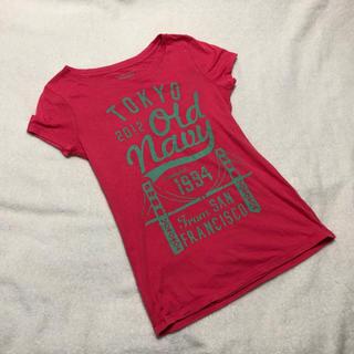 オールドネイビー(Old Navy)のOLD NAVY☆限定ノベTシャツ☆XXsmall☆オールドネイビー(Tシャツ(半袖/袖なし))