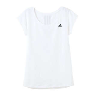アディダス(adidas)の【adidas】ベーシック フレンチスリーブ(カットソー(半袖/袖なし))