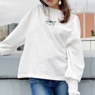 ジェイダ(GYDA)のKANGOL×GYDA BACKラインテープロンT(Tシャツ(長袖/七分))