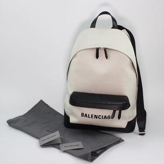 バレンシアガ(Balenciaga)のバレンシアガ バックパック ロゴキャンバス リュックサック(リュック/バックパック)