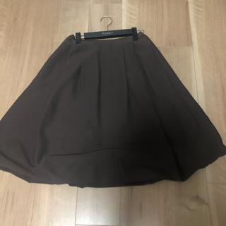 フォクシー(FOXEY)のフォクシーブティック バルーン スカート サイズ40(ひざ丈スカート)