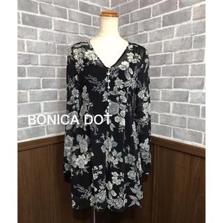 ボニカドット(bonica dot)のBONICA DOT インナー付き ワンピース(ひざ丈ワンピース)