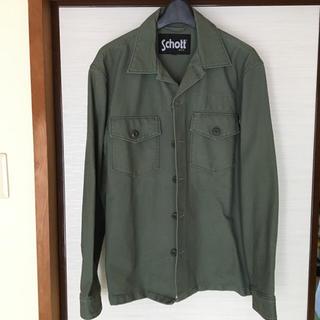 ショット(schott)のSchott ショット ワークシャツ Lサイズ(シャツ)