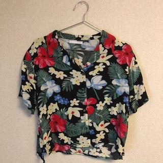 スピンズ(SPINNS)の【美品】SPINNS アロハシャツ(シャツ/ブラウス(半袖/袖なし))