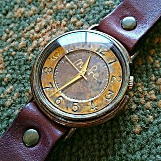 セイコー(SEIKO)の【未使用品・電池交換済】手作り腕時計 渡辺工房 big wheel 2b(腕時計(アナログ))