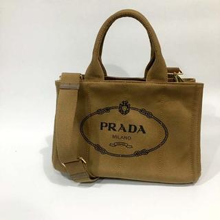 プラダ(PRADA)の送料込 2WAYバッグ カーキPRADA(ショルダーバッグ)