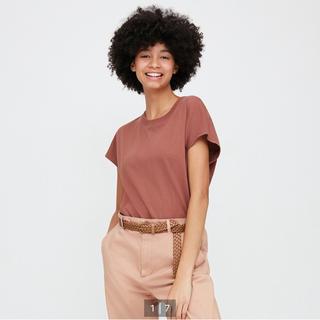 ユニクロ(UNIQLO)のコットンリラックスフレンチスリーブT(Tシャツ(半袖/袖なし))