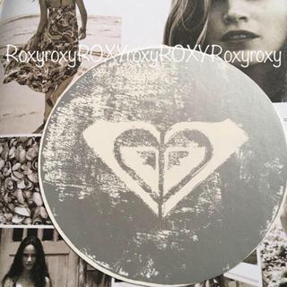 ロキシー(Roxy)のROXYロキシー ハワイ期間限定 ラスピングサークル ステッカー silver(サーフィン)