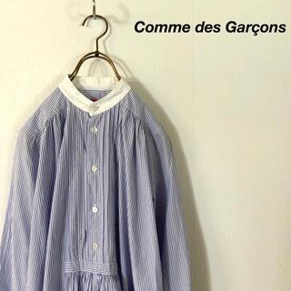 コムデギャルソン(COMME des GARCONS)のComme des Garçons MAN ストライプ ロング ワンピース(ひざ丈ワンピース)