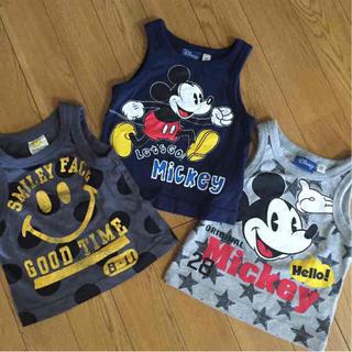 ディズニー(Disney)の美品 タンクトップ 80(タンクトップ/キャミソール)