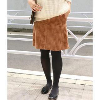 イエナ(IENA)のIENA 親子コール 台形スカート コーデュロイ 38 Mサイズ(ひざ丈スカート)