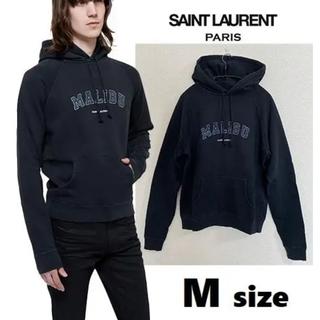 サンローラン(Saint Laurent)の【新品】SAINT LAURENT サンローラン MALIBU ロゴパーカー M(パーカー)