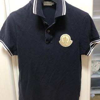 MONCLER - MONCLER モンクレール ポロシャツ ビックロゴ デカロゴ