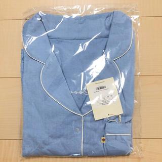 シールームリン(SeaRoomlynn)のコットン2FACE HOMEシャツ (オーシャン, M) (ルームウェア)