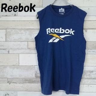 リーボック(Reebok)の【人気】Reebok ベクターロゴ プリント 刺繍 タンクトップ サイズ160 (Tシャツ/カットソー)
