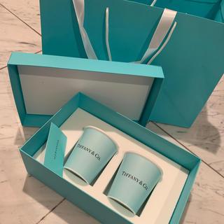 ティファニー(Tiffany & Co.)のTiffany ペアマグカップ 新品(グラス/カップ)