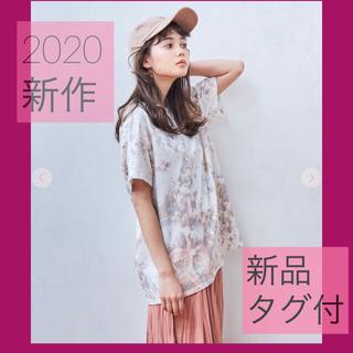ココディール(COCO DEAL)のcocodeal ココディール 新品 2020 新作 タイダイ 半袖 Tシャツ(Tシャツ(半袖/袖なし))