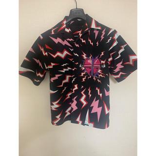 プラダ(PRADA)のprada プラダ 19aw ライトニング ナイロンポプリンシャツ(シャツ)