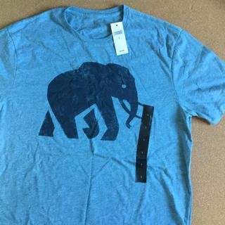 バナナリパブリック(Banana Republic)の【新品】バナナ・リパブリック 半袖 Tシャツ ジャケットの下に合わせてください。(Tシャツ/カットソー(半袖/袖なし))