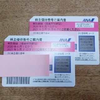 ANA(全日本空輸) - 全日空 ANA 株主優待 二枚