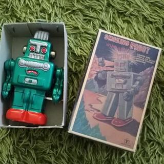 ブリキ ロボット(知育玩具)