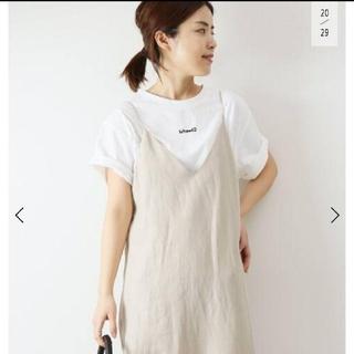 スピックアンドスパン(Spick and Span)のCheerful Flocking Tシャツ(Tシャツ(半袖/袖なし))