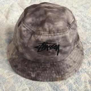 ステューシー(STUSSY)のステューシー バケットハット 帽子 (ハット)