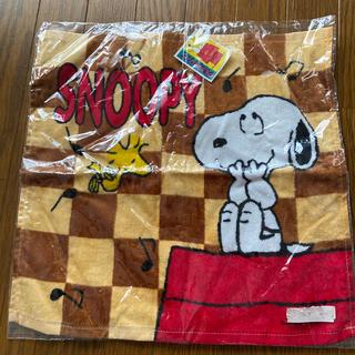 スヌーピー(SNOOPY)のスヌーピー タオル(大きめ 34×35)(タオル)