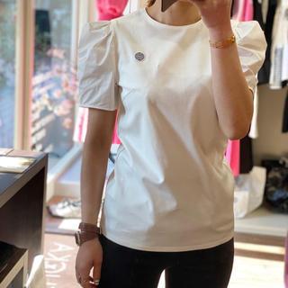 バーニーズニューヨーク(BARNEYS NEW YORK)の新品タグ付 ボーダーズアットバルコニー パフスリーブTシャツ(Tシャツ(半袖/袖なし))