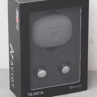 アヴォイド(Avoid)のアビオット Bluetooth ワイヤレスイヤホン TE-D01k(ヘッドフォン/イヤフォン)