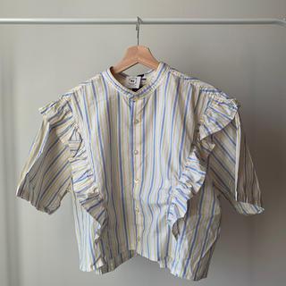 スピンズ(SPINNS)の古着 スピンズ リメイク シャツ(シャツ/ブラウス(半袖/袖なし))